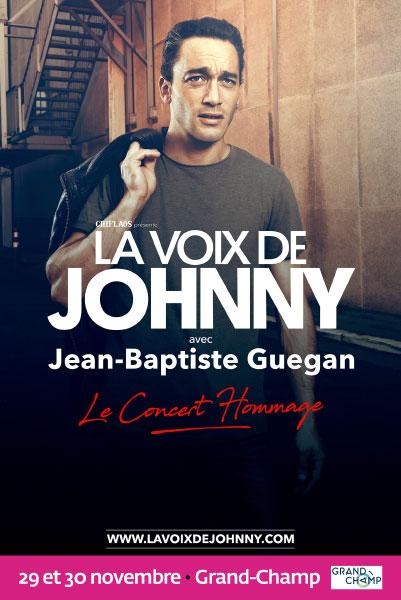 Jean Baptiste GUEGAN: la voix de johnny