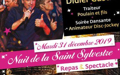 Nuit de la Saint Sylvestre «Didier Gustin»