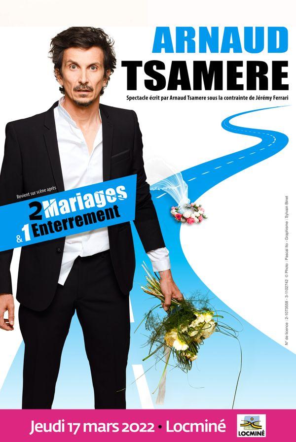 Arnaud Tsamere À Locminé