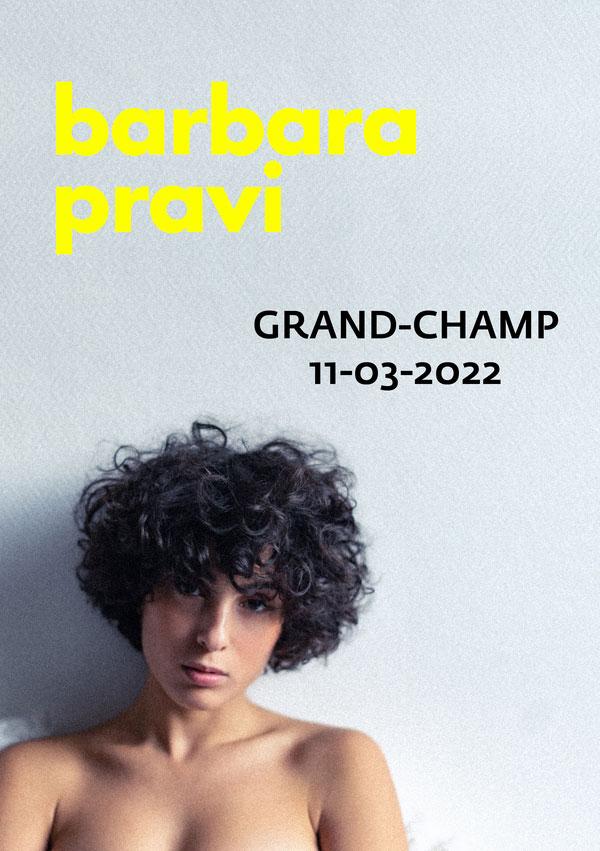 Barbara PRAVI À Grand-Champ