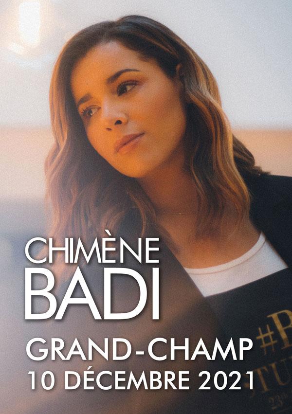 Chimène BADI à Grand-Champ